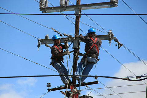 Alternative Power Sources During Power Line Repair
