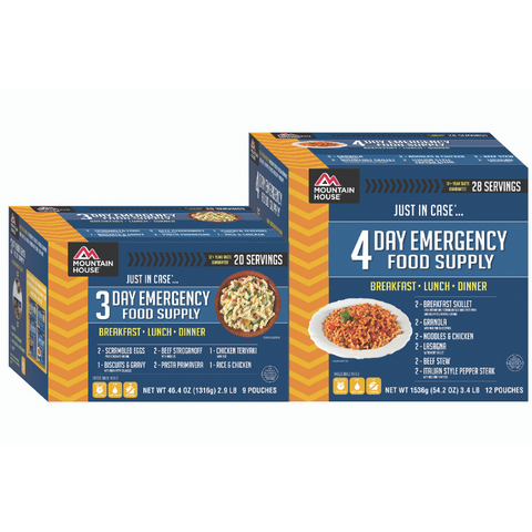 Just in Case...® 7 Day Emergency Food Supply