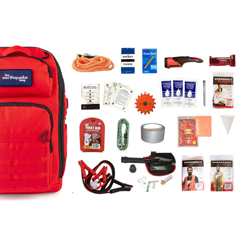 Complete Emergency Car Kit for 1 Person