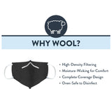Wool Face Covering - 2 Pack