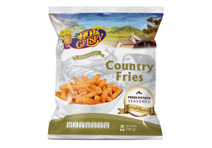 Hot & Crispy - Country Fries 750 gm - كانتري فرايز 750 جرام