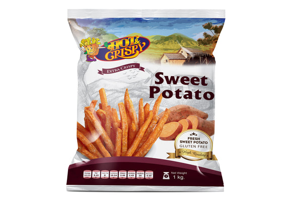 Hot & Crispy - Sweet Potato 1 KG - بطاطا حلوه 1 كجم