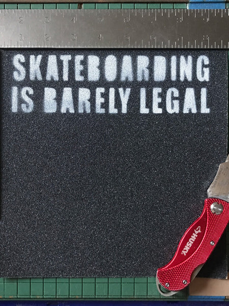 Slogan Grip Tape