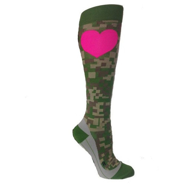 Digital Camo Compression Socks
