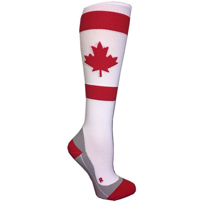 Canada Maple Leaf Compression Socks