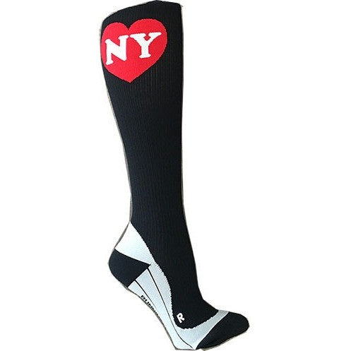 Black NY Compression Socks