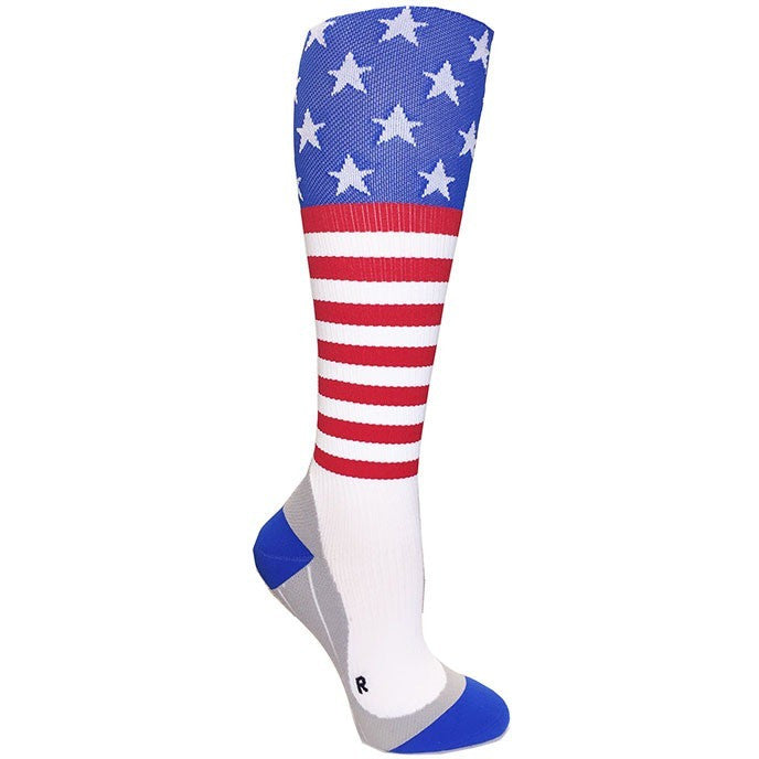 Stars & Stripes Compression Socks