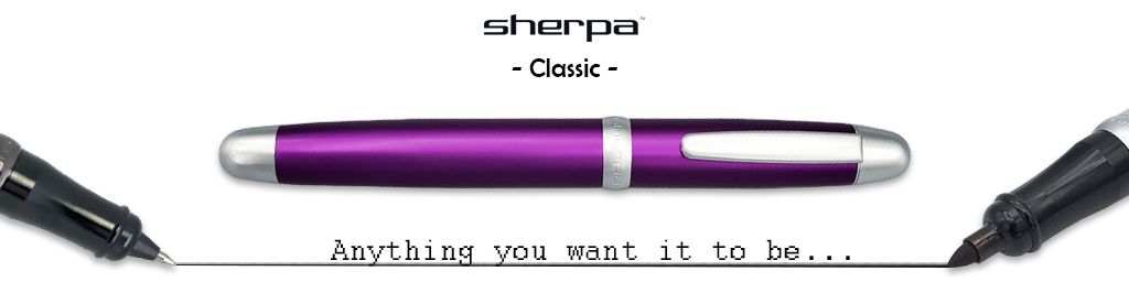 Sherpa Pen Classic Pen Covers for Fountain Pens, Roller Balls, Sharpies and more!