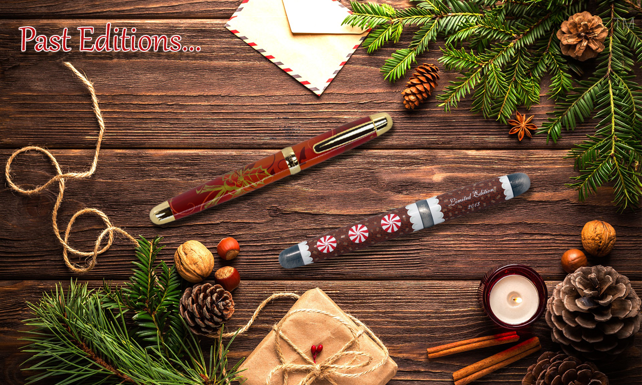 Sherpa Pen Past Annual Holiday Limited Edition
