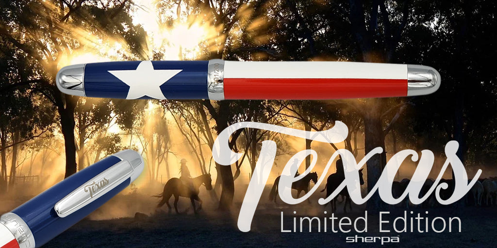 Sherpa Pen States Series Limited Edition Texas Sharpie Pen/Marker Cover