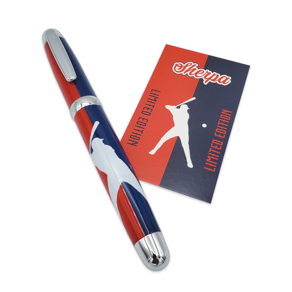 Sherpa Pen Baseball Limited Edition Sharpie marker uni-ball pen cover set