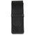 Sherpa Genuine Nappa Leather Black Flapover Triple Pen Case