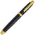 Sherpa Pen Back in Black...and Gold Fountain Pen, Sharpie Marker, Uni-ball Pen Cover