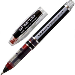 Sherpa Medium Red Roller Ball Pen for Sherpa Pen Covers - Made in Spain