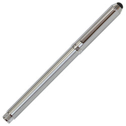Sherpa Brushed Silver Stick Ballpoint/Stylus Pen Cover