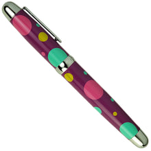 Sherpa Polka Dot Design Fountain Pen Sharpie Marker Pen Cover side shot