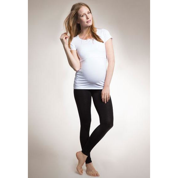 Once-On-Never-Off Leggings - Black