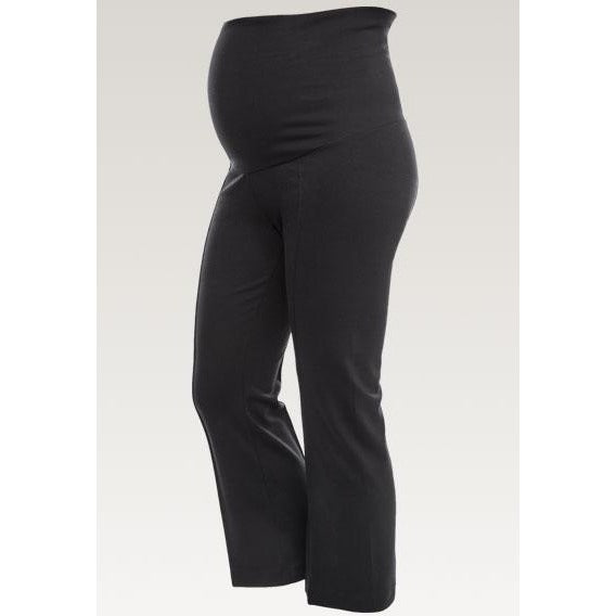 Once-On-Never-Off Kick Flare Pants - Black