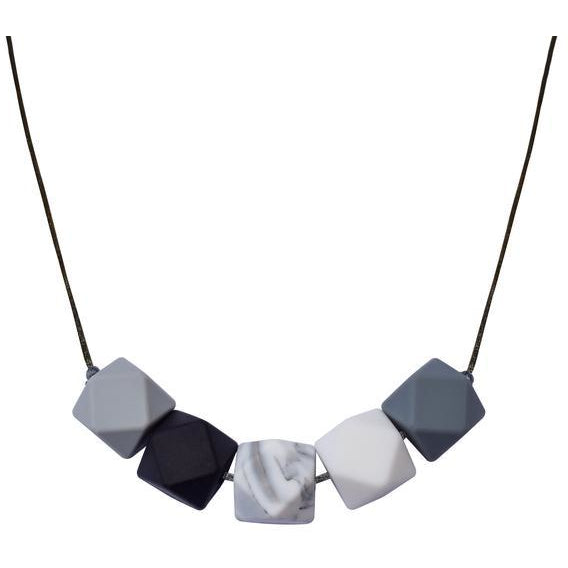 Geo Necklace - Marble