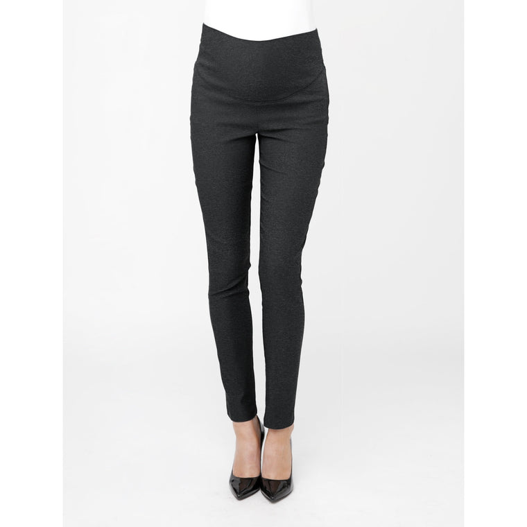(Large only) Suzie Super Straight - Charcoal Marle