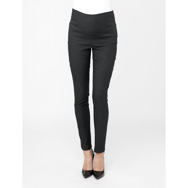 Suzie Super Straight - Charcoal Marle