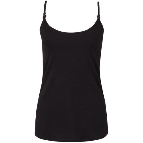Maternity and Nursing Secret Support Top - Black