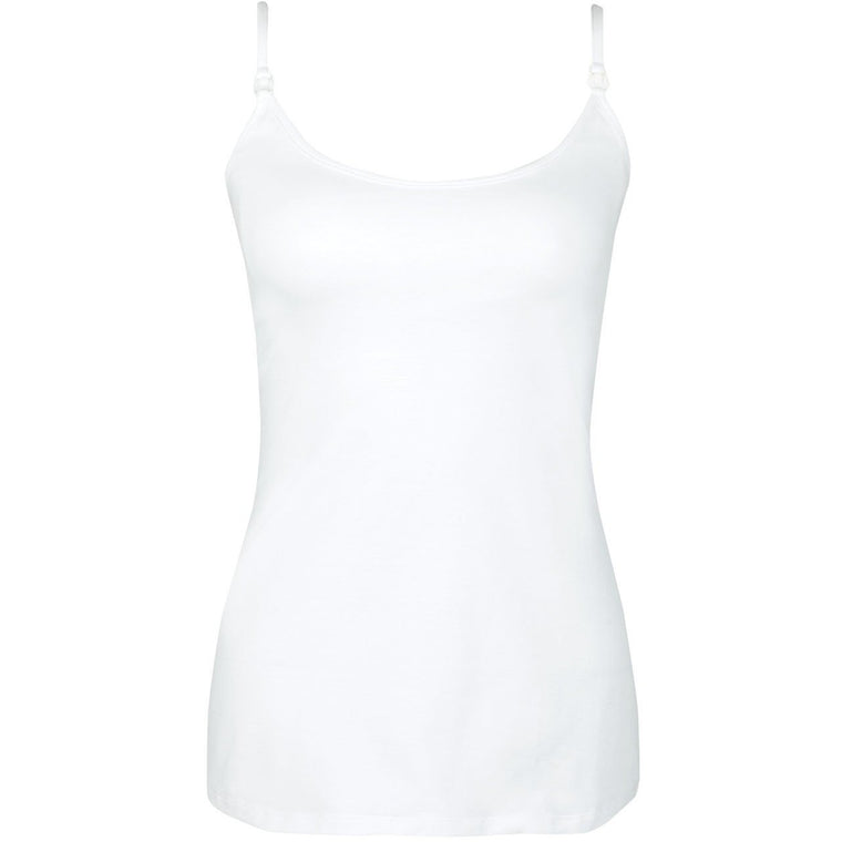 Maternity and Nursing Secret Support Top - White