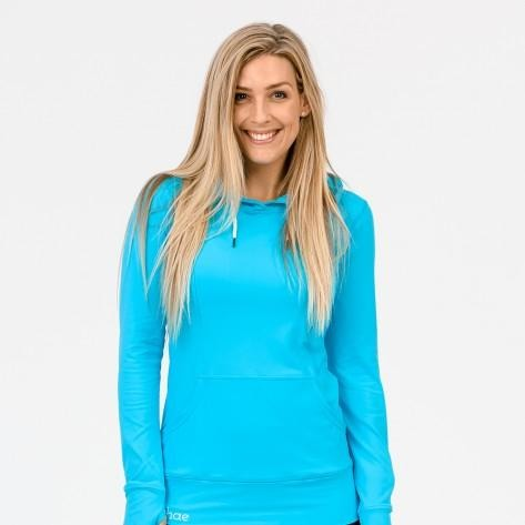 Activewear Hoodie - Sky Blue (XL only)