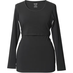 Classic Top Long Sleeve - Black