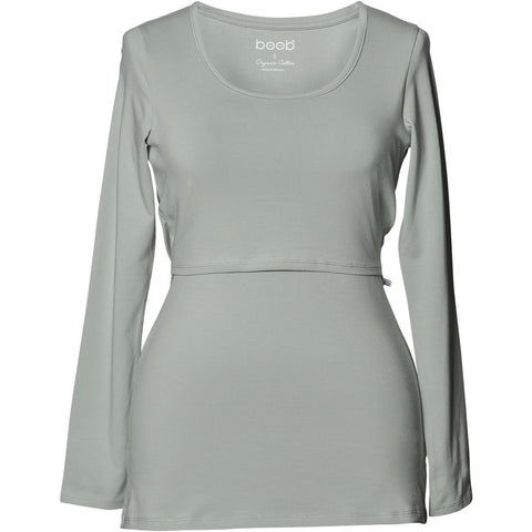 Classic Top Long Sleeve - Soft Celadon