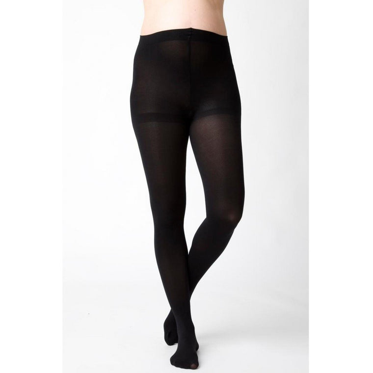 Opaque Maternity Tights - Black