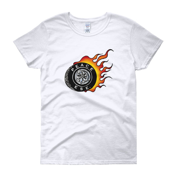 Women's Peace Ese Tire T-Shirt