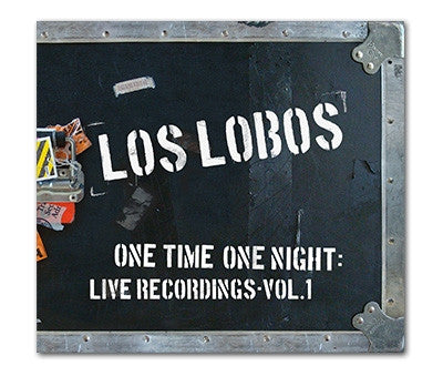 "Los Lobos ""One Time One Night"" CD"