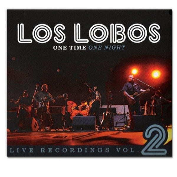 "Los Lobos ""One Time One Night Vol. 2"" CD"