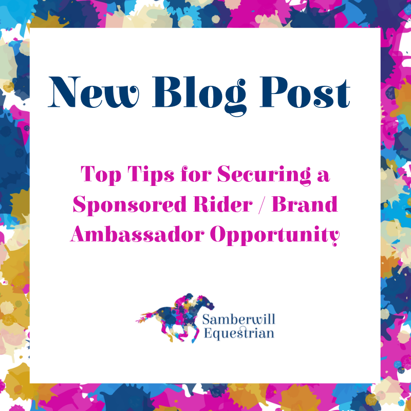 Top Tips for Securing a Sponsored Rider / Brand Ambassador Opportunity
