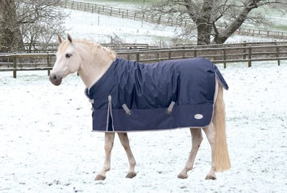 Rhinegold Thor Heavy Weight Outdoor Rug - Navy