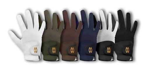 MacWet Short Cuff Mesh Sports Gloves