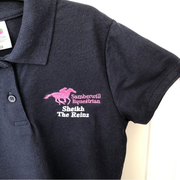 Samberwill Equestrian Customised Polo Shirt