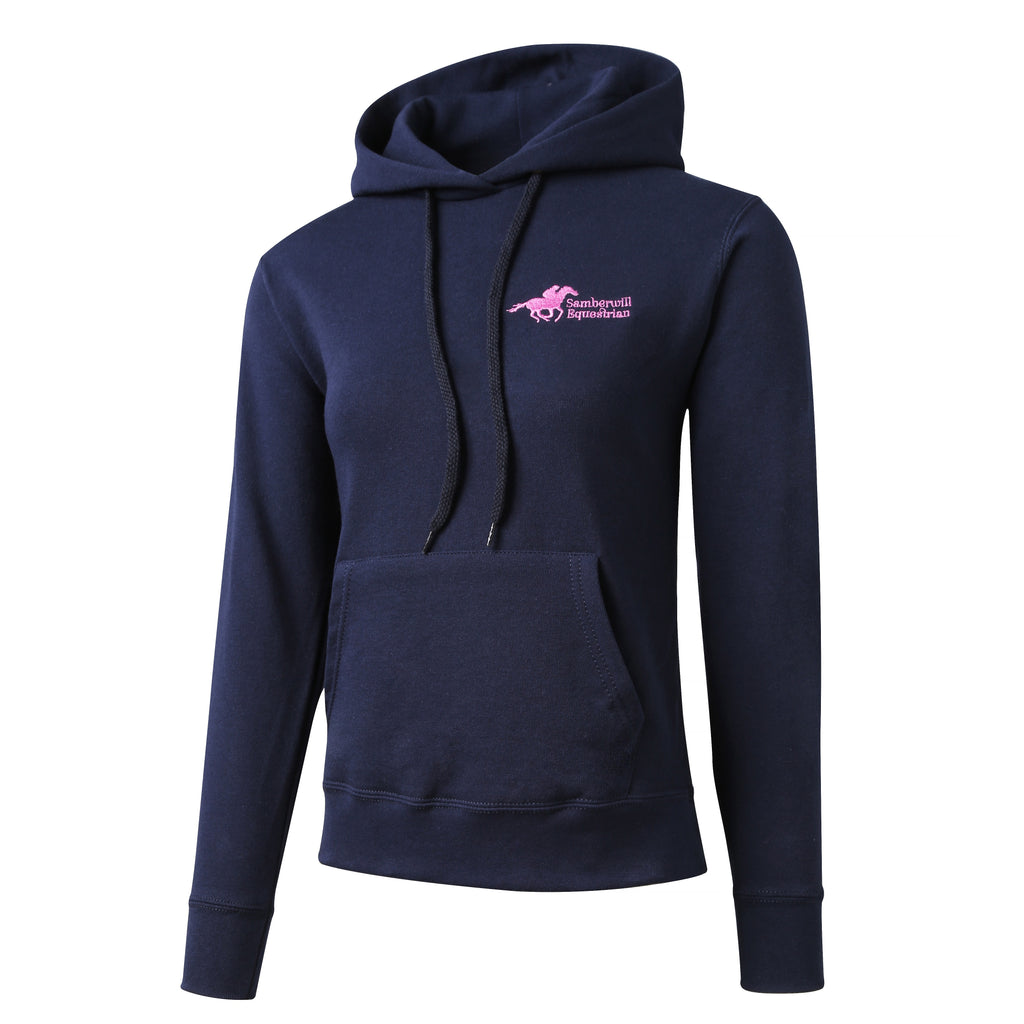 Samberwill Equestrian Ladies Hoodie in Navy