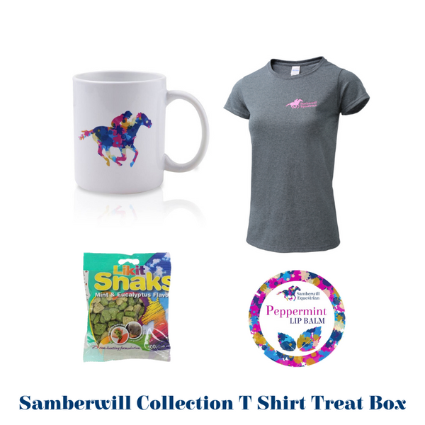 Samberwill Equestrian T Shirt Treat Box