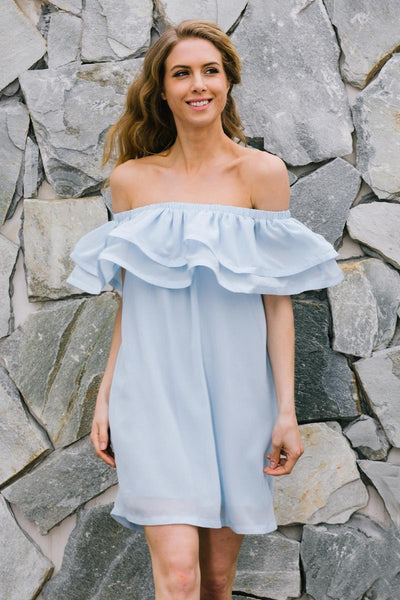 Knowles Jolie Ruffle Off the Shoulder