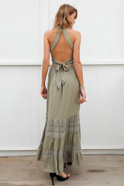 Halo Halter Dress