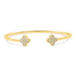 Bubbly Bangle 18K Yellow Gold 0.37ct