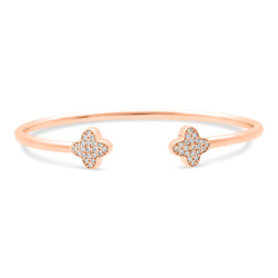 Bubbly Bangle 18K Rose Gold 0.37ct