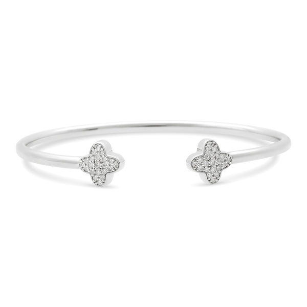 Bubbly Bangle 18K White Gold 0.37ct
