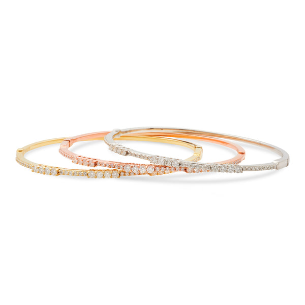Boujee Bangle 18K Rose Gold 1.00ct