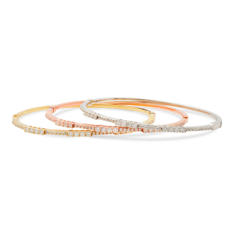 Boujee Bangle 18K Yellow Gold 1.00ct