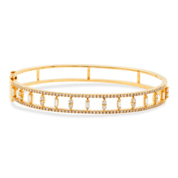 Princess Bracelet 18k Yellow Gold
