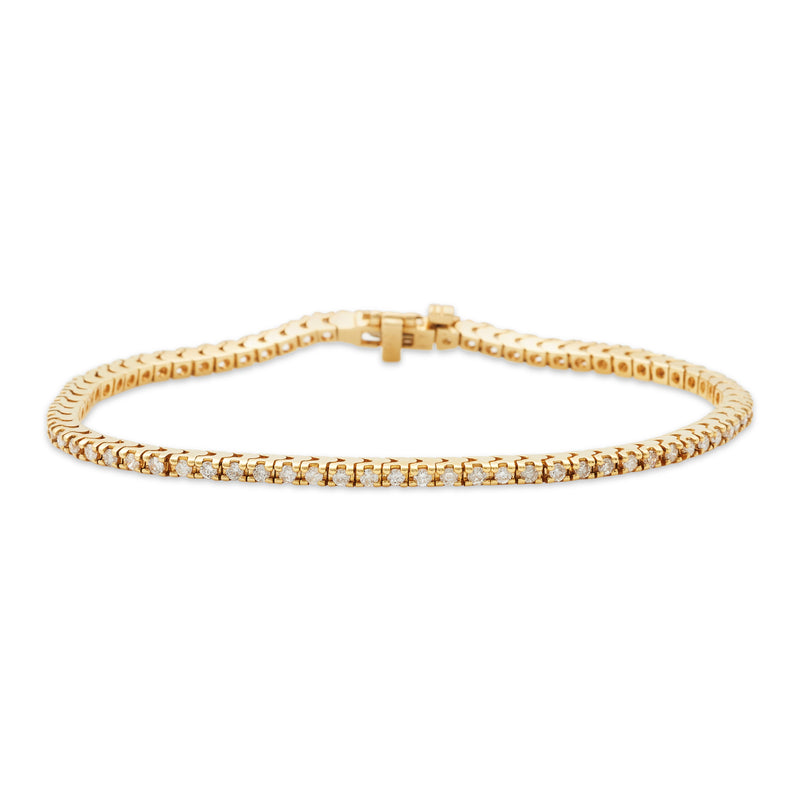 Shinin' Bracelet 14K Yellow Gold 1.65ct