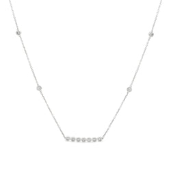 Little Details Necklace 14K White Gold 0.25ct